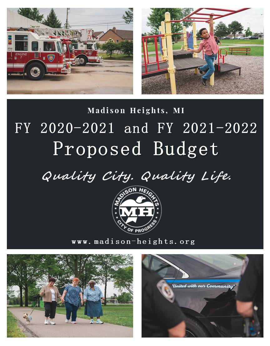 Budget Cover FY 2021