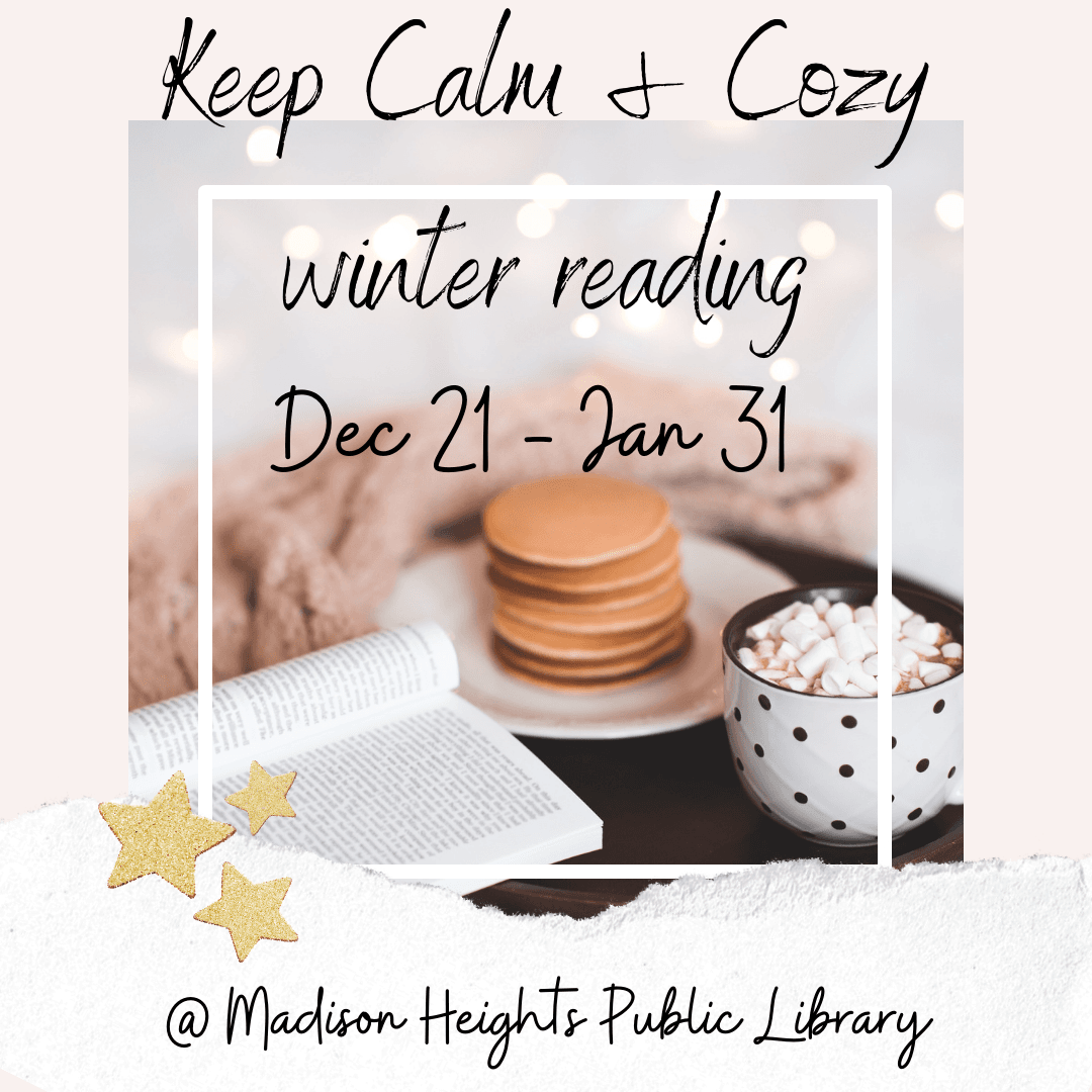 keep calm - cozy winter reading challenge