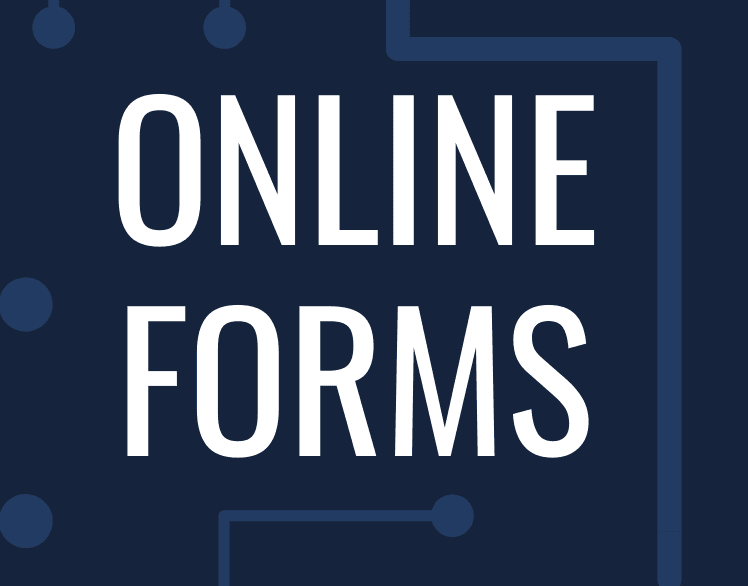 online forms heading