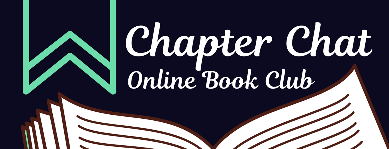 chapter chat open book graphic