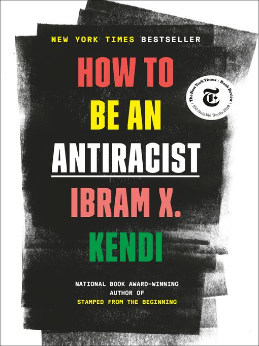 book cover how to be an antiracist Opens in new window