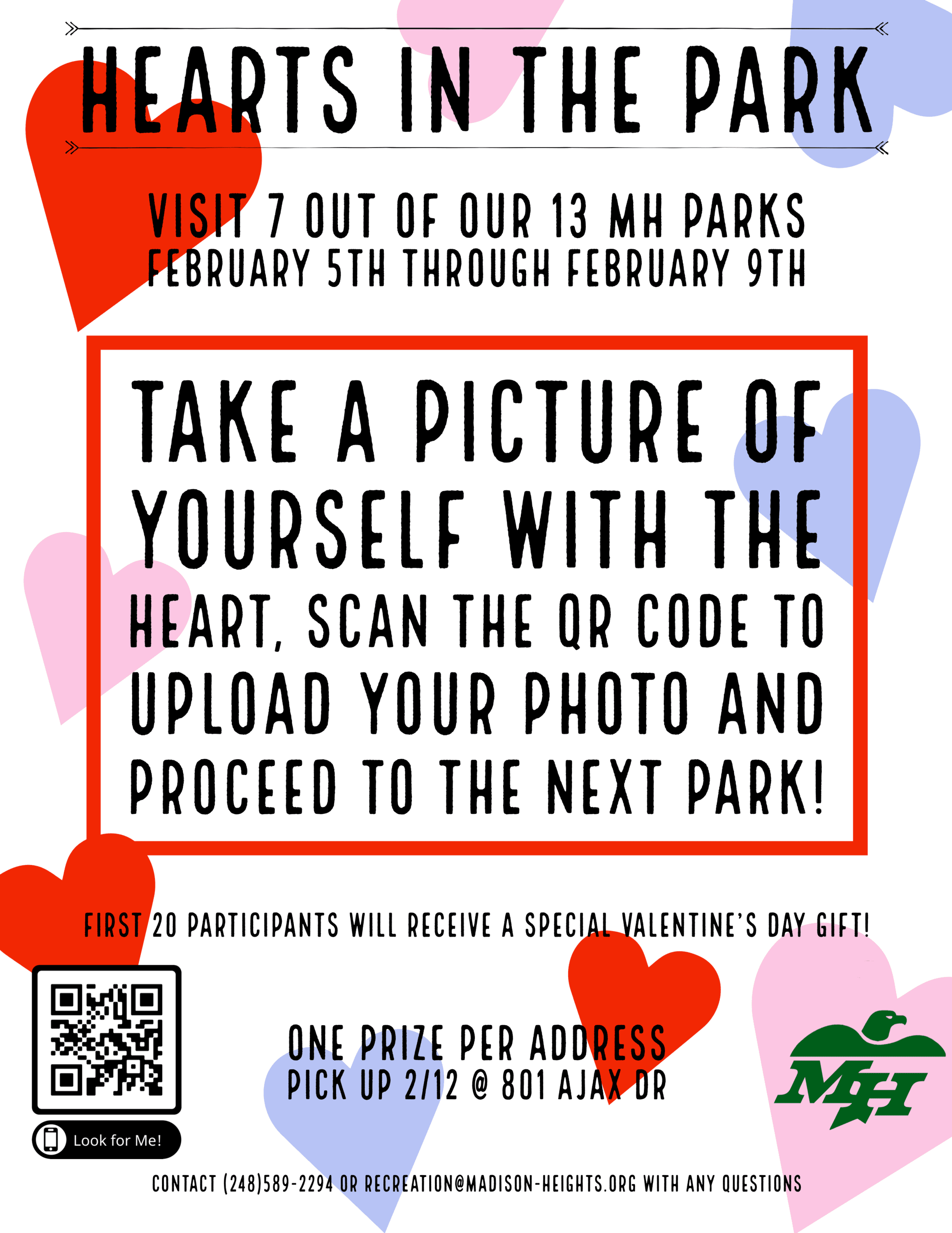 Hearts in the Park Flyer